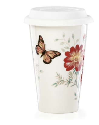 Butterfly Meadow Travel Mug