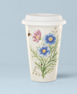 Butterfly Meadow Flutter Thermal Travel Mug