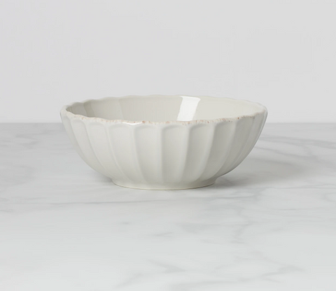 French Perle Scallop Bowl