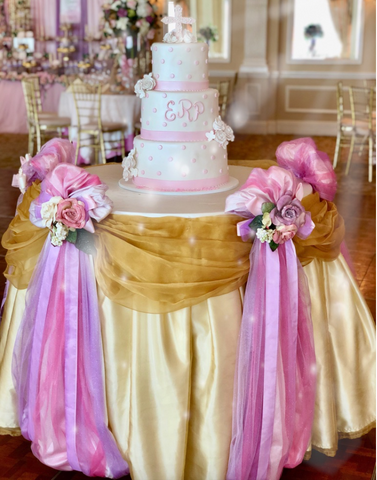 Fairy Tale Specialty Table Cloth Rental