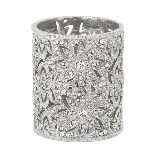 Olivia Riegel Silver Windsor Tealight Holder Dalmazio Design