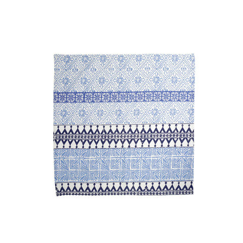 Bohemian Linens Blue Napkins - Set of 4