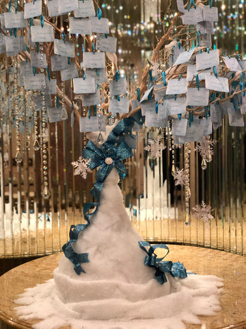 Dalmazio Design Fairy Tale Winter Garden Tree Centerpiece Rental
