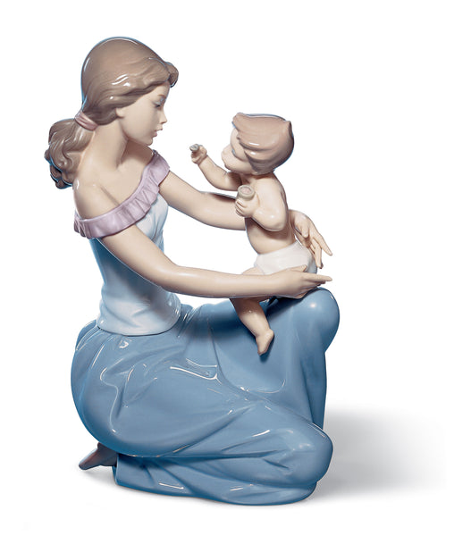 Lladro One for You one for Me Mother Figurine - Dalmazio Design