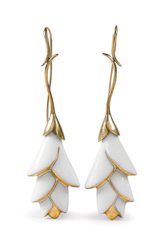 Heliconia Long Earrings