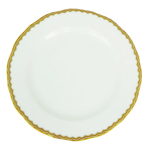 Antique Gold Salad / Dessert Plate, Gold