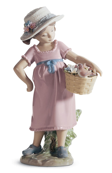 Lladro You're so Cute! Girl Figurine - Dalmazio Design