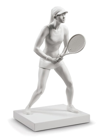 Lady tennis player