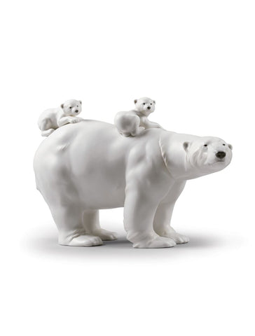 Lladro Mummy bear and babies Dalmazio Design