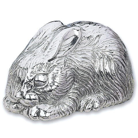 Bunny Silverplate Musical Box - LAST IN STOCK