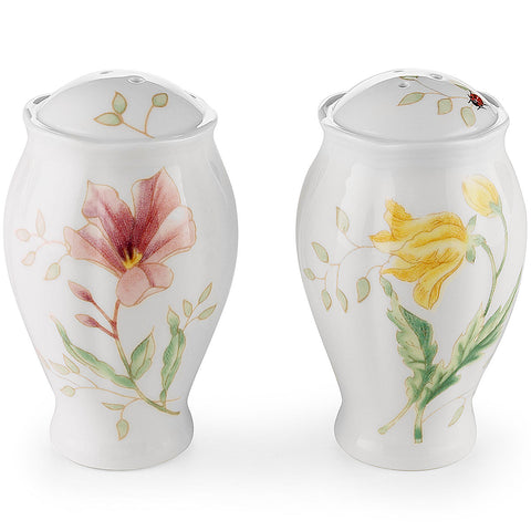 Lenox Butterfly Meadow® Salt & Pepper Shaker Set Dalmazio Design
