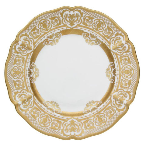 Carlsbad Queen White, Round Platter / Charger Plate