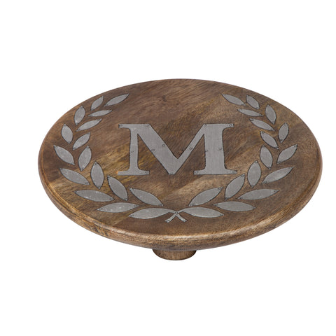GG Collection Trivet W/Letter M Dalmazio Design