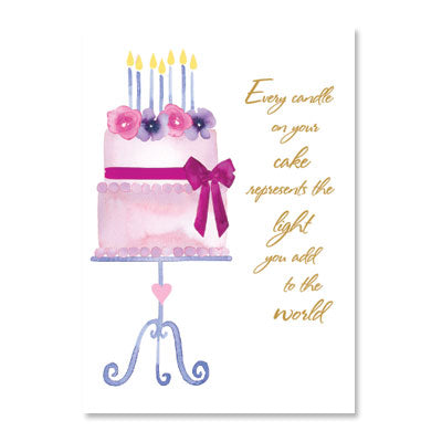 Every Candle On Your Cake Birthday Card
