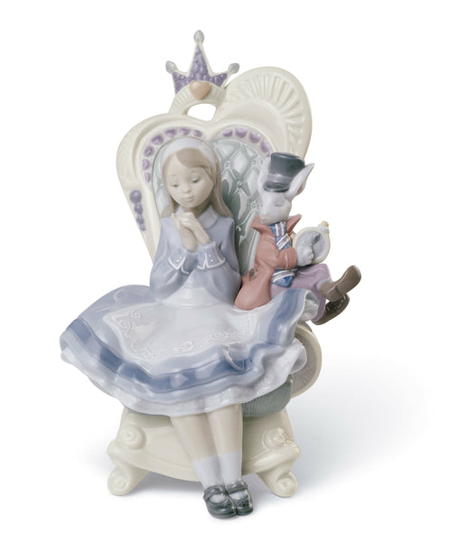 Lladro Alice in Wonderland Figurine - Dalmazio Design