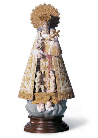 Lladro Our Lady of The Forsaken Figurine. Numbered Edition - Dalmazio Design