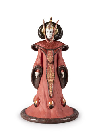Lladro Queen Amidala in the Throne Room. Limited Edition. Dalmazio Design
