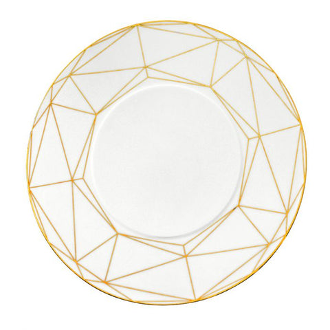 Gem Cut Gold, Salad / Dessert Plate