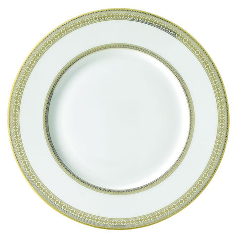 Golden Leaves Charger Plate, Gold
