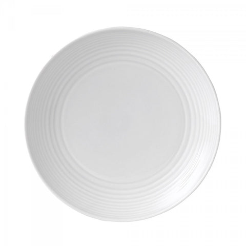 Royal Doulton Maze White Salad Plate Dalmazio Design