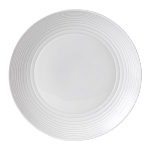 Royal Doulton Maze White Dinner Plate Dalmazio Design
