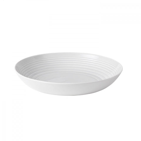 Royal Doulton Maze White Serving Bowl Dalmazio Design