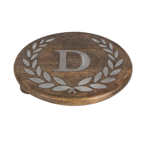 GG Collection Trivet W/Letter D Dalmazio Design