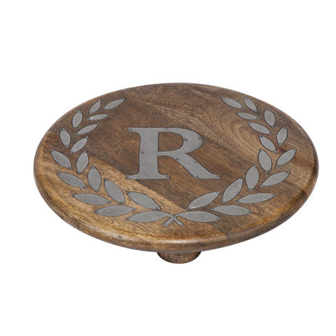GG Collection Trivet W/Letter R Dalmazio Design