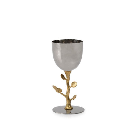 Botanical Leaf Gold Celebration Cup
