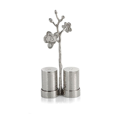 White Orchid Salt & Pepper Set