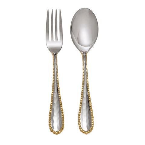Molten Gold Serving Set
