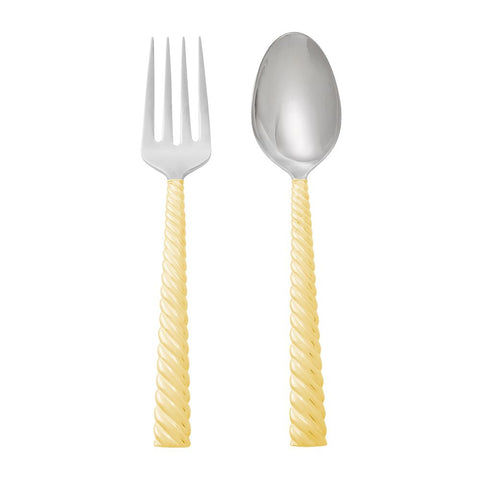 Twist Gold Serving Set
