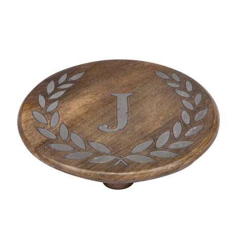 GG Collection Trivet W/Letter J Dalmazio Design
