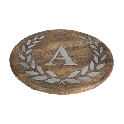 GG Collection Trivet W/Letter A Dalmazio Design