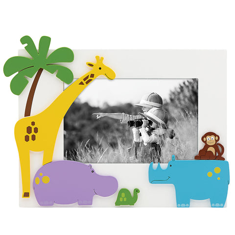 "Lenox Jungle Parade™ 4"" x 6"" Photo Frame - LAST IN STOCK Dalmazio Design"
