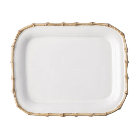 "Classic Bamboo Natural 12"" Rectangular Platter"