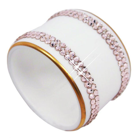 Knightsbridge Gold Napkin Ring, Gold