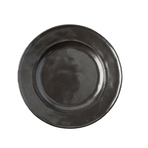 Pewter Stoneware Side/Cocktail Plate