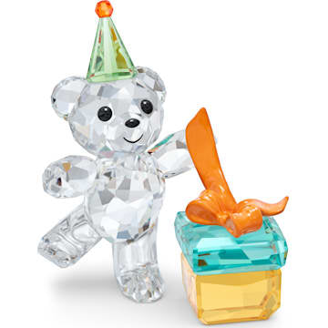 Swarovski Kris Bear Best Wishes - Dalmazio Design