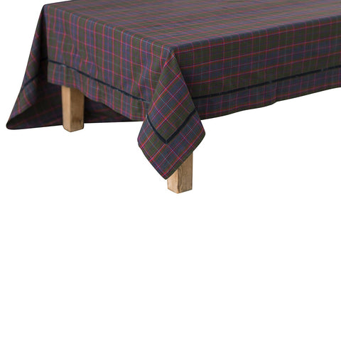 "Chalet Tartan 70""x108"" Table Cloth"