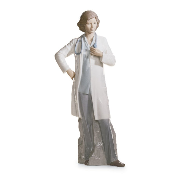 Female Doctor Figurine