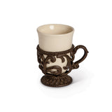 9Oz. Acanthus cup, Holder
