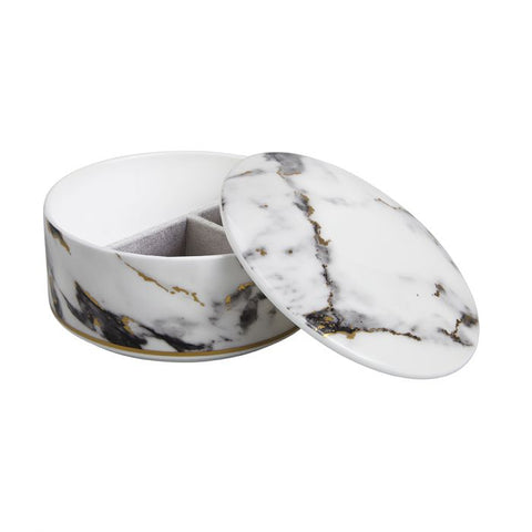 Marble Venice Fog Jewelry Box