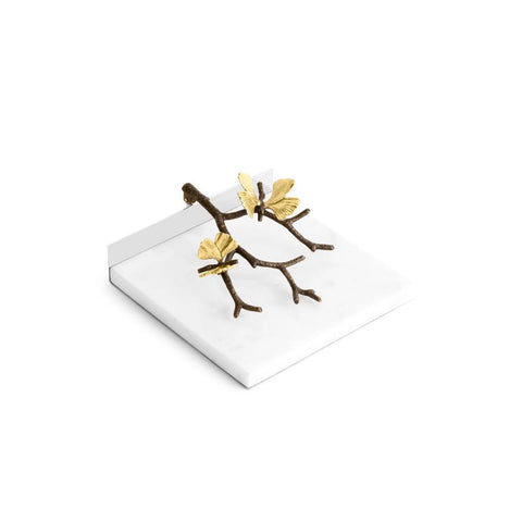 Butterfly Ginkgo Dinner Napkin Holder