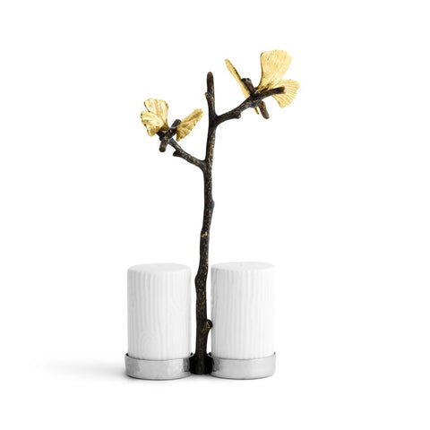 Butterfly Ginkgo Salt & Pepper Set
