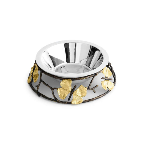 Butterfly Ginkgo Small Dog Bowl