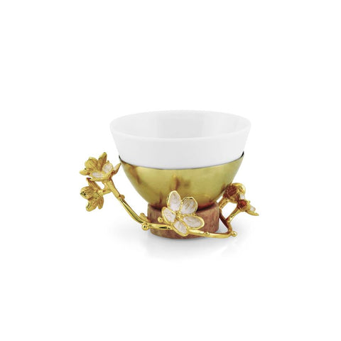 Cherry Blossom Porcelain Dipping Bowl