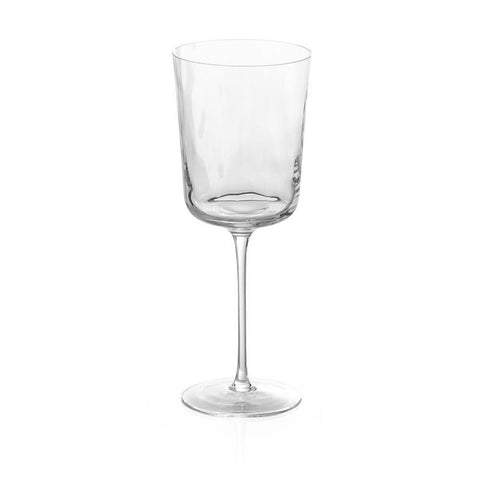 Ripple Effect Water Glass