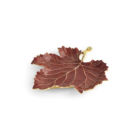 Vine Red Grape Leaf Dish