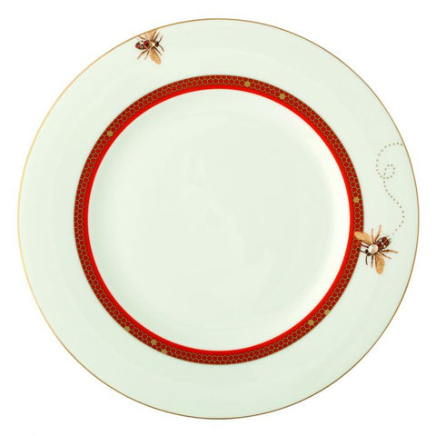 My Honeybee Salad / Dessert Plate, Gold-Orange